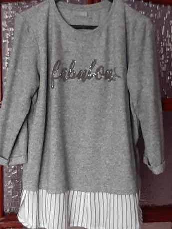 Popielata bluza C&A