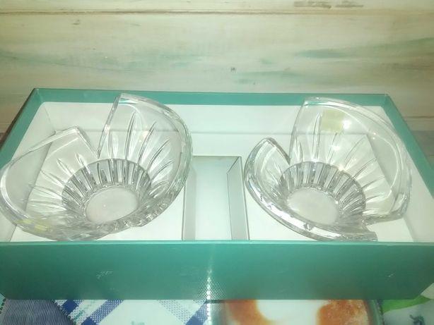 Kryształowe świeczniki