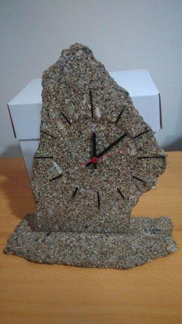 Decoração Relógio em pedra de granito