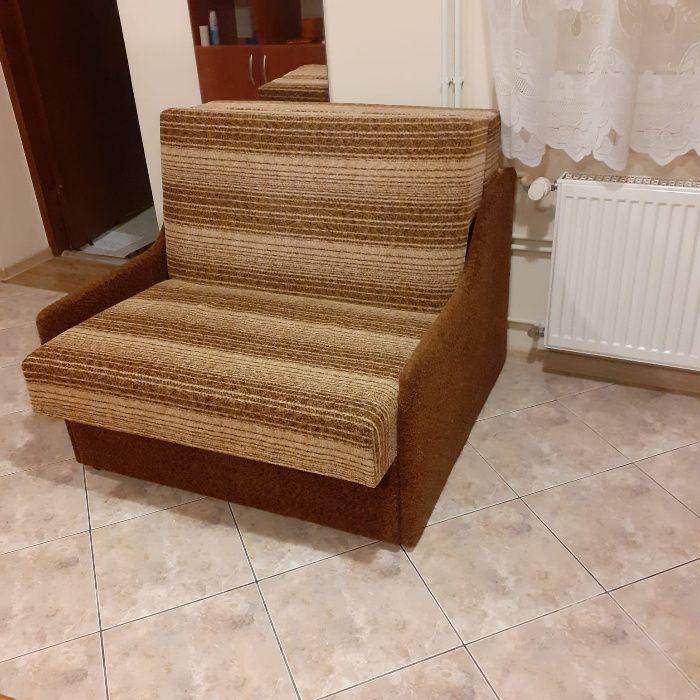 Fotel jednoosobowy rozkładany z funkcją spania Rzeszów - image 1