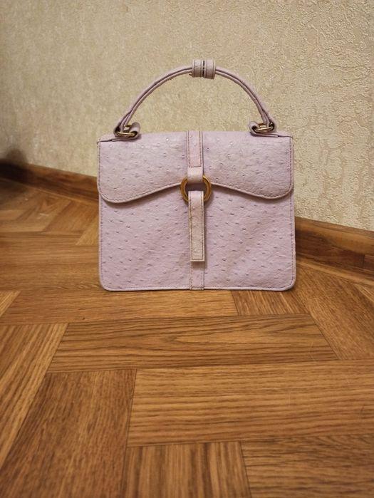 Маленькая сумка лиловая Чернигов - изображение 1