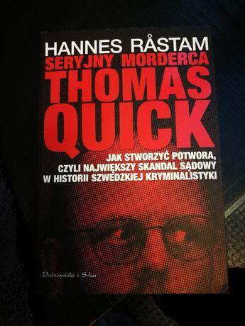 "Książka ""seryjny morderca Thomas Quick"""