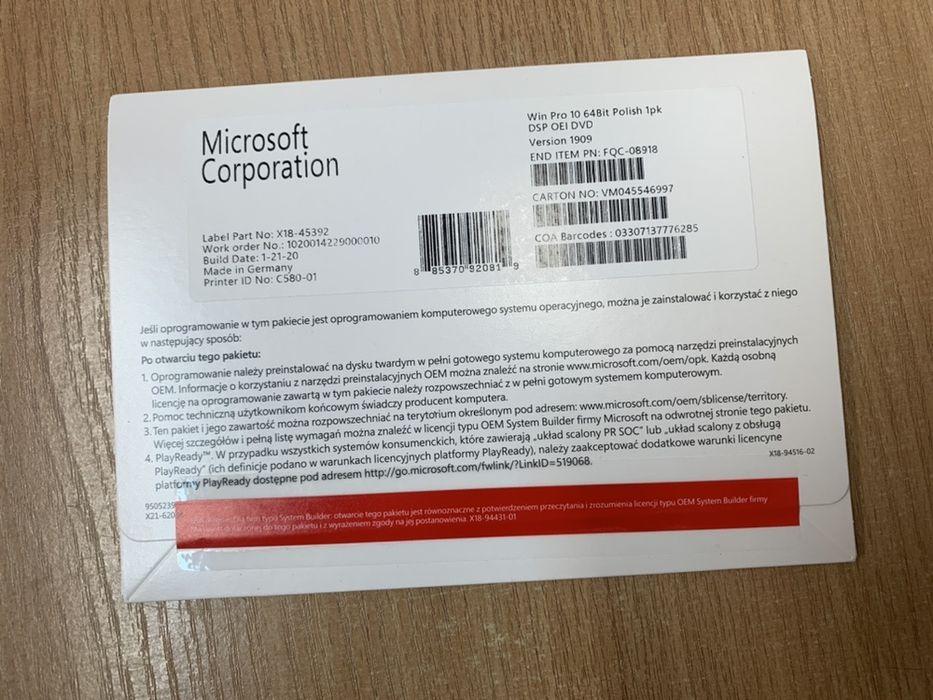 Windows 10 Professional Wodzisław Śląski - image 1