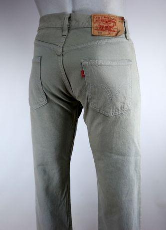 Levis 501 spodnie jeansy W30 L34 pas 2 x 41 cm