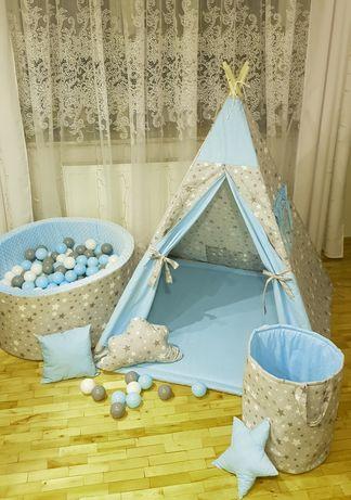 Namiot Tipi z basenem