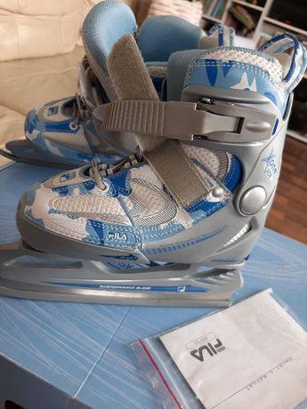 Łyżwy FILA X ONE ICE jak nowe, regulowane 29-32