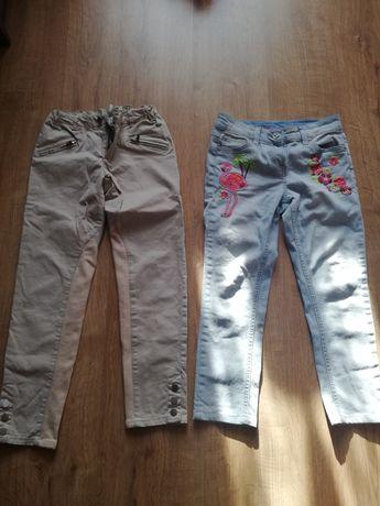 Sprzedam 2 pary spodni na dziewczynke