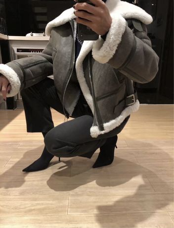 Продам натуральну дублянку дубльонку Balenciaga Баленсіага Баленсиага