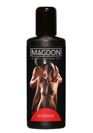Luksusowy olejek do masażu erotycznego TRUSKAWKOWY