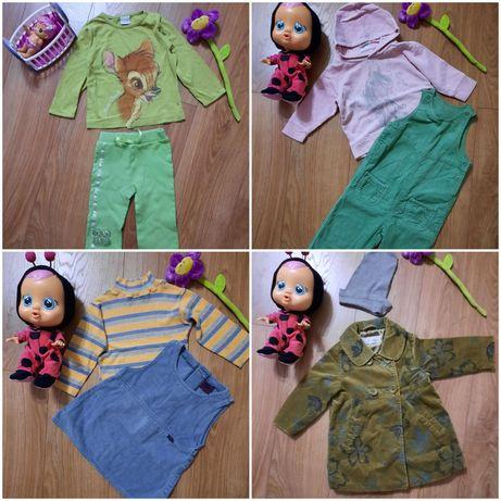 Пакет речей на дівчинку 1-2 роки