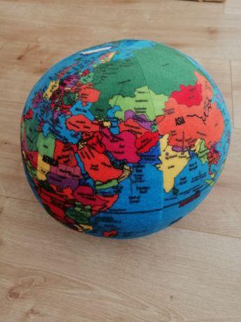 Globo de peluche mapa mundo