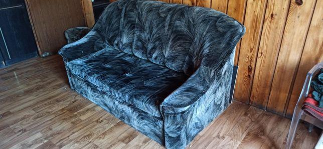 Sofa Kanapa popielata