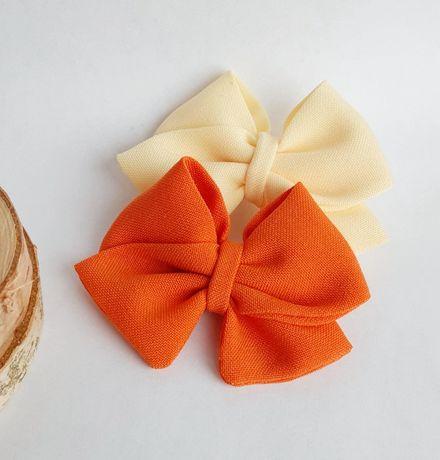 Spinka do włosów / opaska bezuciskowa kokardka handmade