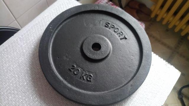 Obciążenie żeliwne Nowe fi 31 20 kg