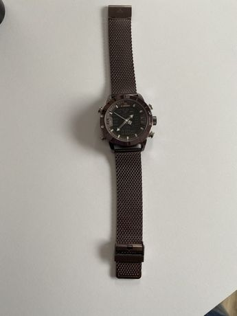 Meski zegarek fioletowy