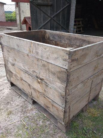 Skrzyniopalety, skrzynie drewniane