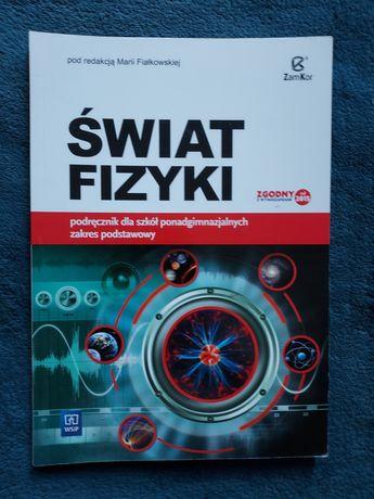 Świat Fizyki podręcznik zakres podstawowy klasa pierwsza 1
