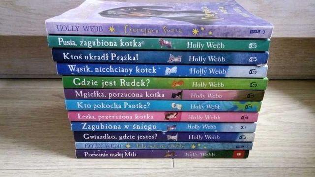 """Zestaw książek, książka z serii """"Zaopiekuj się mną"""" Holly Webb"""