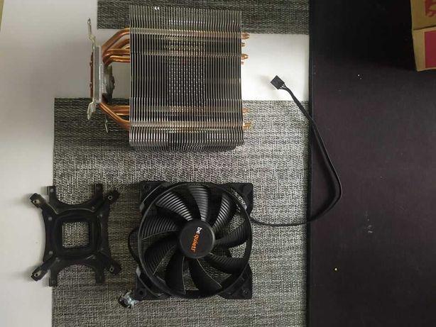 I5 7600k + chłodzenie Zalman CNPS10X (wentylator be quiet)
