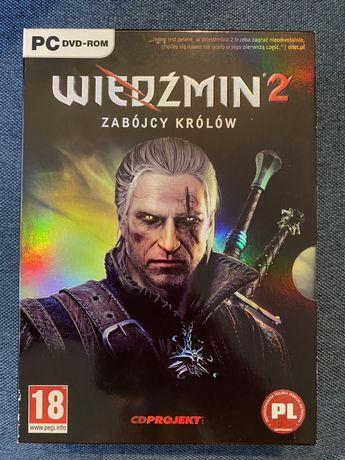 Gra PC Wiedźmin 2: Zabójcy Królów - 2DVD