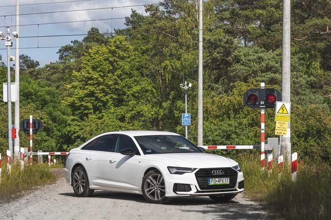 Audi A6 TDi 190KM Sline - Wynajem Wypożyczalnia Samochodów Aut Pozań