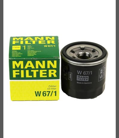 Фильтр масляный (W671)  MANN-FILTER W 67/1