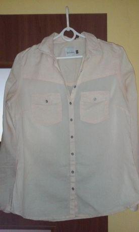 Beżowa koszula Reserved 38