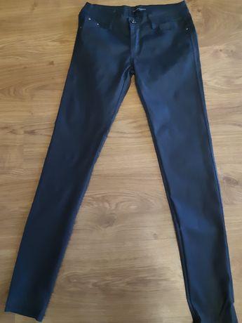 Spodnie woskowane grafitowe roz.38