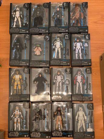 Star Wars Black Series 6'' pack Blue, Orange & Red series