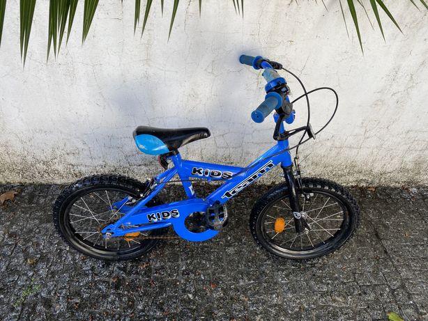 Bicicleta Criança Azul