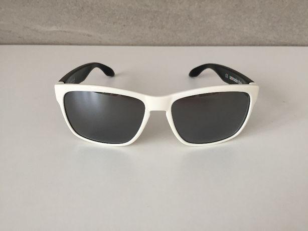 Nowe oryginalne okulary RUDY PROJECT Spinhawk, biało czarne.