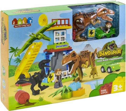 Конструктор с крупными деталями JDLT Динозавры