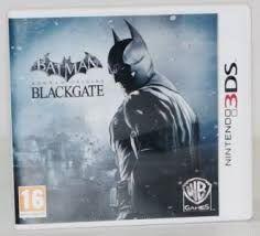 Nintendo 3DS-Batman Arkham Origins Blackgate