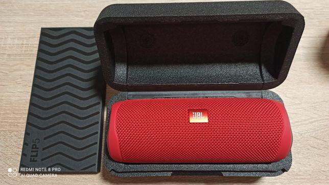 NOWY głośnik mobilny JBL Flip 5 czerwony GWARANCJA
