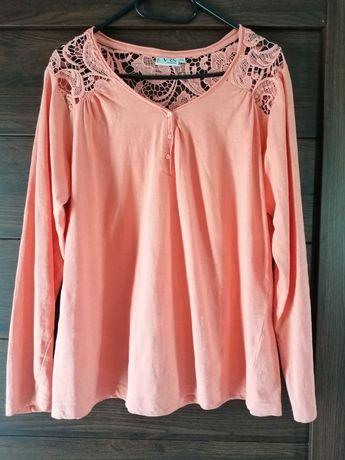 Bawełniana bluzka XXL