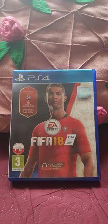 Gra PS4 Fifa 18.