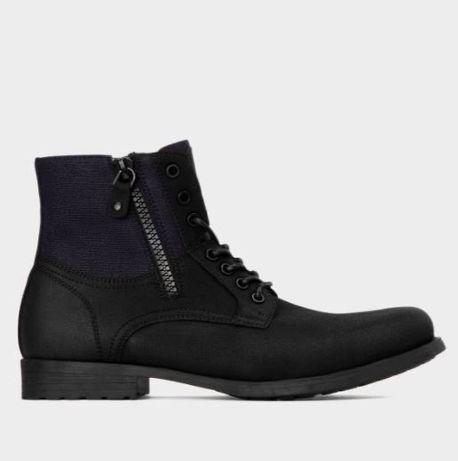 NOWE czarne zimowe buty Kazar r. 41