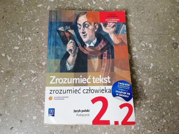 Podręcznik: Zrozumieć tekst, zrozumieć człowieka cz. 2.2