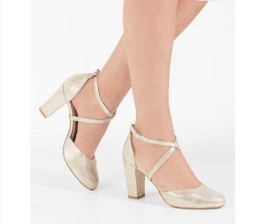 Nowe buty slubne firmy brilu rozmiar 38