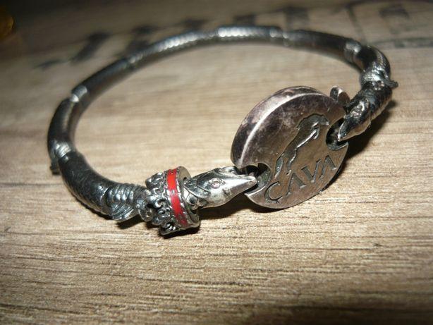 Ca Va серебряный браслет мужской