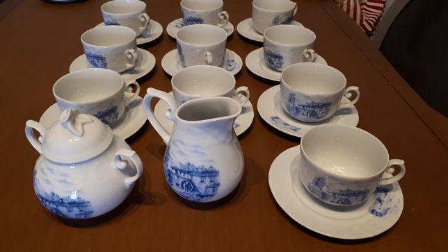 Conjunto de chá porcelana