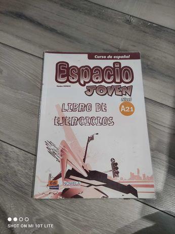 """Ćwiczenia do języka hiszpańskiego """"Espacio Joven"""" poziom A.2.1"""