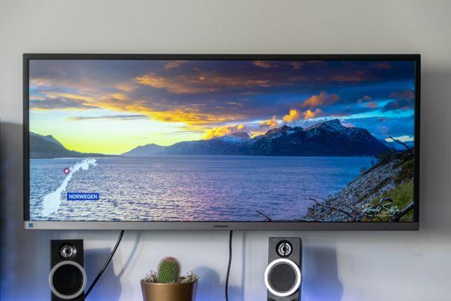 "Monitor Samsung LS34J550WQUXEN 34"" 21:9 3440x1440 75Hz Stan Idealny"