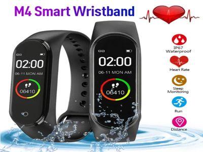 SmartWatch M4 Opaska Sportowa Smart Bracelet Bluetooth