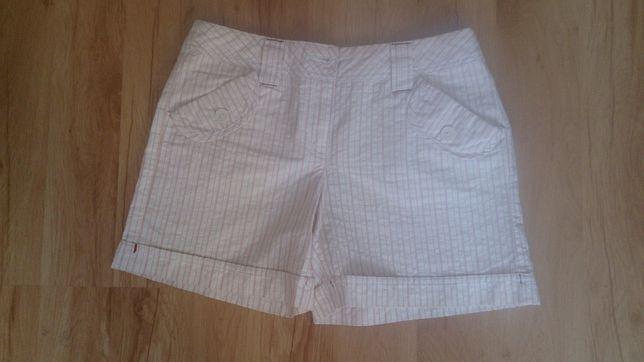 Orsay krótkie spodenki 36 S w paski shorty