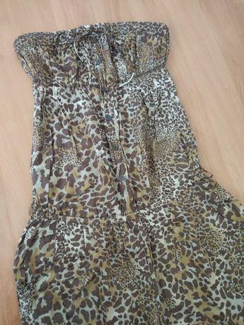Macacão cai-cai leopardo Bershka