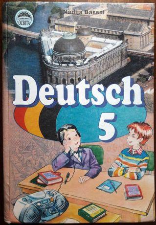 Підручник Німецька мова, 5 клас