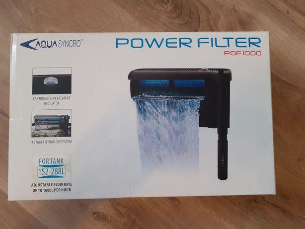 Filtr kaskadowy zewnętrzny nowy aqua syncro power filter profi 1000