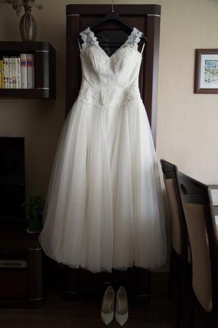 Suknia Ślubna Elizabeth Passion roz. 40 ivory ŚLICZNA