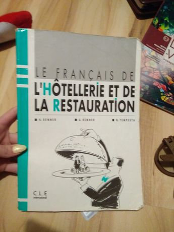 Książka do języka francuskiego zawodowego.